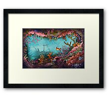 Submerged Framed Print