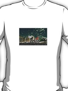 Downtown Oslo skyline by Tim Constable T-Shirt