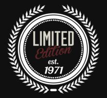 Limited Edition est.1971 by seazerka