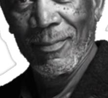 Troll Quotes - Morgan Mandela Sticker