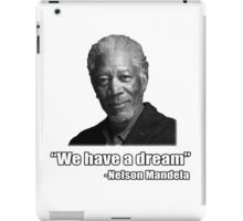 Troll Quotes - Morgan Mandela iPad Case/Skin