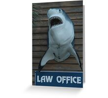 An Honest Attorney Greeting Card