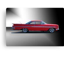 1959 Chevrolet Impala 'Studio 1' Canvas Print