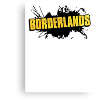 Borderlands Logo Canvas Print