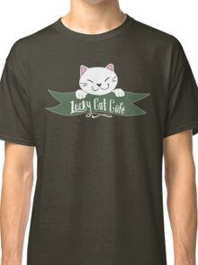 Lucky Cat Cafe  Classic T-Shirt