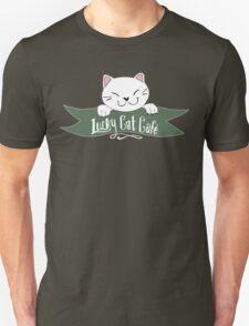 Lucky Cat Cafe  T-Shirt