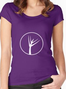 Thagomizers Logo Women's Fitted Scoop T-Shirt