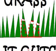 NEW Emo Grass Sticker