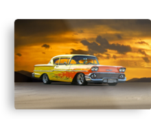 1958 Chevrolet Delray 'Custom' Metal Print