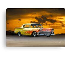 1958 Chevrolet Delray 'Custom' Canvas Print