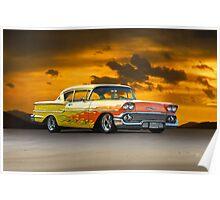 1958 Chevrolet Delray 'Custom' Poster