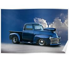1950 Chevrolet 'Pro Street' Pickup  Poster