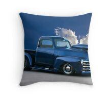 1950 Chevrolet 'Pro Street' Pickup  Throw Pillow