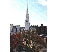 North Church, Portsmouth, NH Photographic Print
