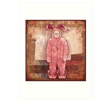 Ralphies Suit, Ode to A Christmas Story Art Print