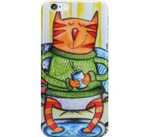 Cute cat iPhone Case/Skin