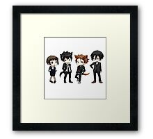 Psycho Pass - The squad Framed Print