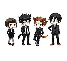 Psycho Pass - The squad Photographic Print