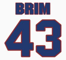 National football player Michael Brim jersey 43 by imsport