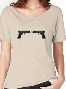 War and peace (Hand Guns) Women's Relaxed Fit T-Shirt