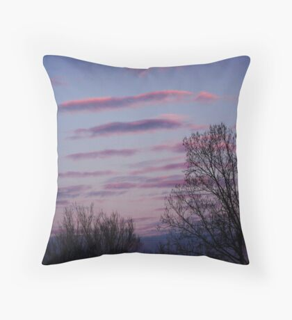 Streaks Throw Pillow