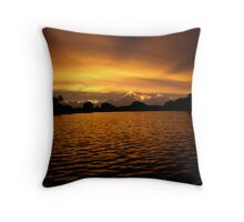 Stanley Sunset Throw Pillow