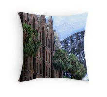Bricks and steel  Throw Pillow