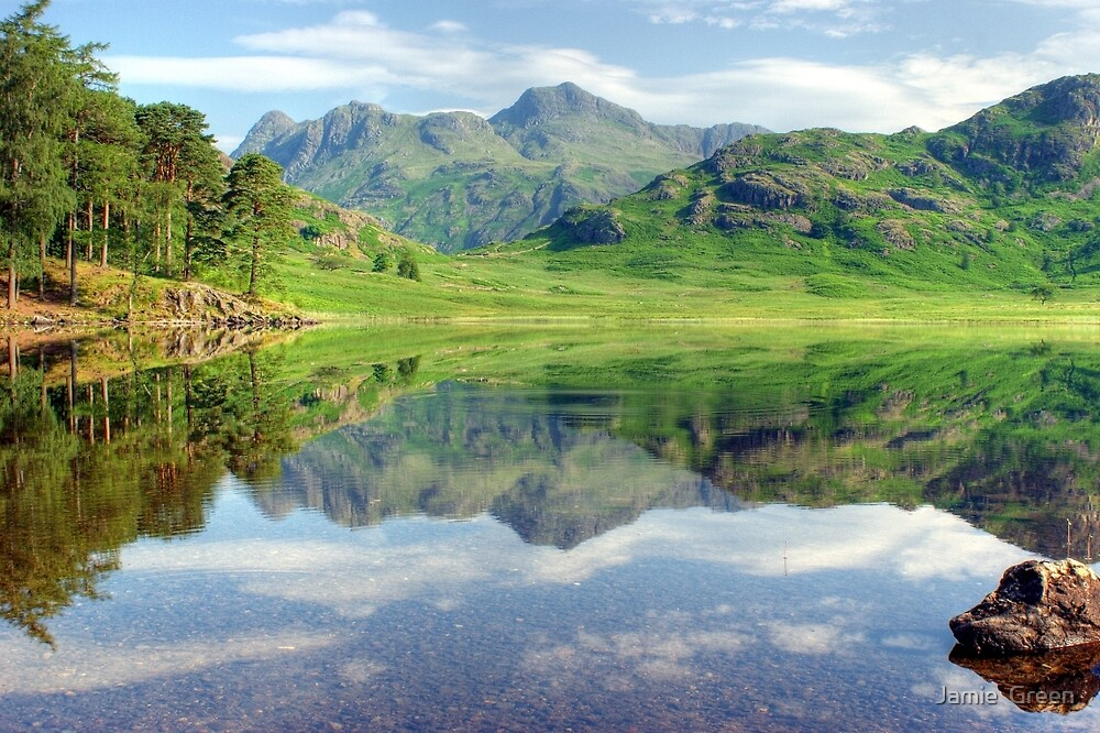 The Ripple in the Reflection by Jamie  Green