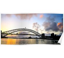 Promise - Sydney Harbour Dawn Poster