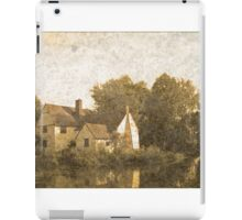 Willie Lott's Cottage antiquated process iPad Case/Skin