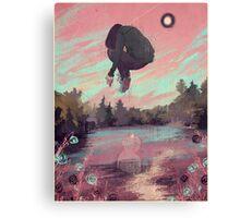 Dissolving Canvas Print
