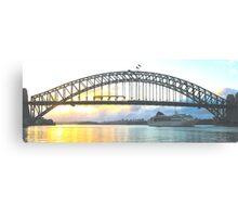 Rays Of Day - Sydney Harbour , Sydney Australia Canvas Print