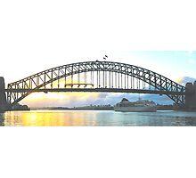 Rays Of Day - Sydney Harbour , Sydney Australia Photographic Print