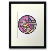 Music Symbols 1 Framed Print