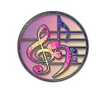 Music Symbols 1 Photographic Print