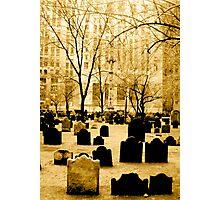 Trinity Cemetery  Photographic Print