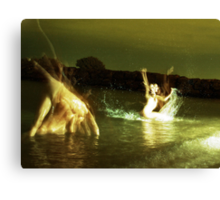 Water Dancers Canvas Print