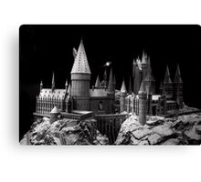 Hogwarts castle, the school of wizardry Canvas Print