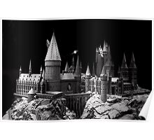 Hogwarts castle, the school of wizardry Poster