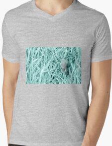 Frosty Leaves 2 Mens V-Neck T-Shirt