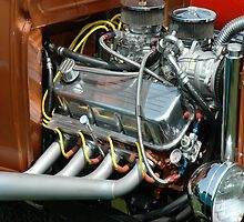 Model T Motor II  by joan warburton