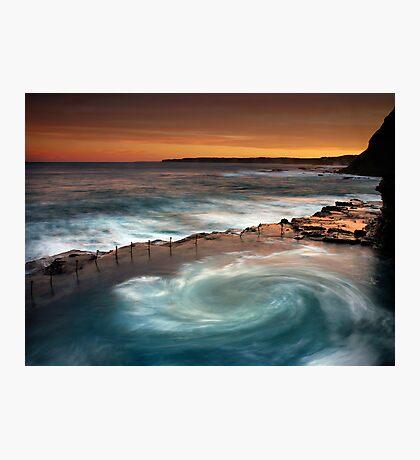 Bogey Hole Whirlpool Photographic Print