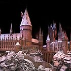 The beauty of Hogwarts castle at Christmas time by miradorpictures