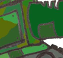 Laser Tank Sticker
