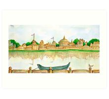 RIVERVIEW Art Print