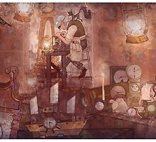 The Clockmaker by TaylorRoseArt