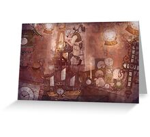 The Clockmaker Greeting Card
