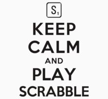 Keep Calm and Play Scrabble Kids Clothes