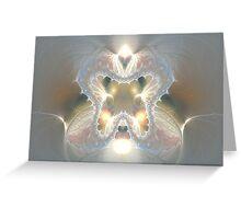 Metallic emotion Greeting Card