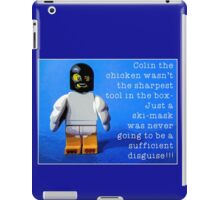 Colin the chicken, by Tim Constable iPad Case/Skin